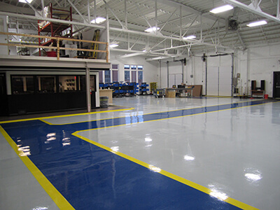 ... Warehouse After Epoxy Floor Coating