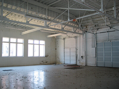 Warehouse Before Epoxy Floor Coating
