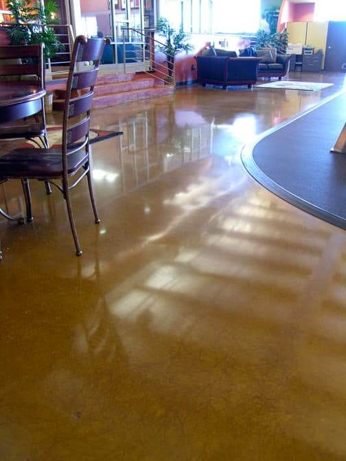 Concrete Stain Application | Benefits of Stained Concrete Floors