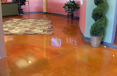Concrete Stain & Concrete Polishing Services