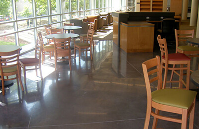 Concrete Polishing & Concrete Stain Application for Showrooms