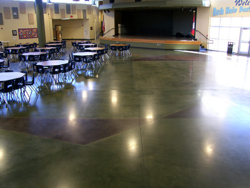 Concrete Stain Application Benefits Of Stained Concrete