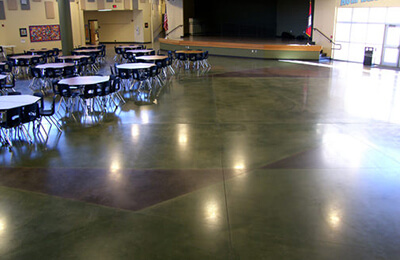Stained Concrete Floors: Commercial & Office Building Flooring