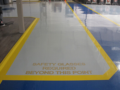 Epoxy Floor Coating & Epoxy Coating Application in St. Louis