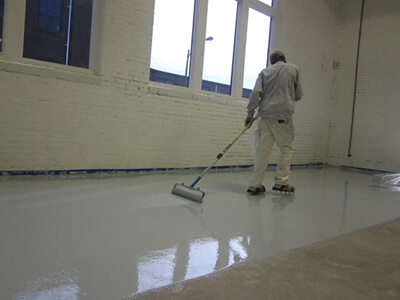 Epoxy Floor Coating Application Services in St. Louis