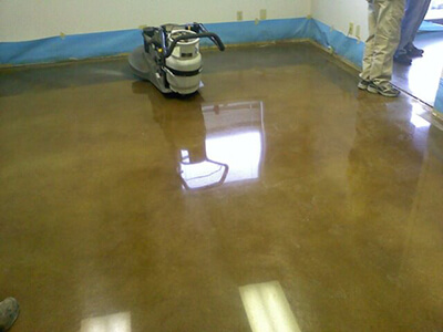 Concrete Flooring Finishes: Concrete Grinding, Polishing, & Staining