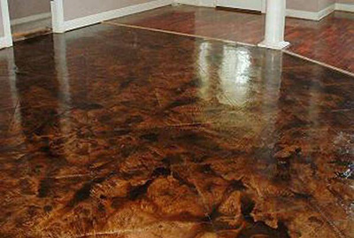 Stained Concrete Floors Benefits For Commercial